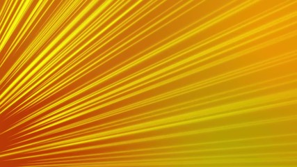abstract loop motion background, red and yellow