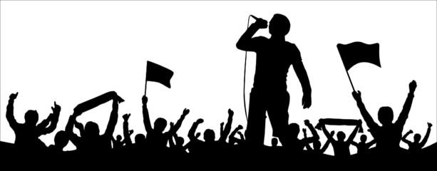 Menschen Musik Party Konzert