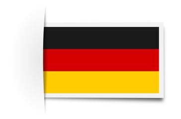 Schild Deutschland