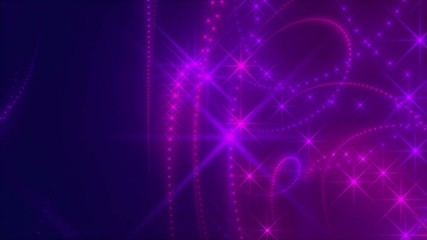purple loop background, abstract motion, turbulence light