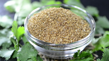 Coriander Powder (loopable)