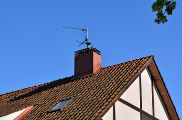 Roofs of old Koenigsberg