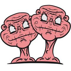 2 Nackte Hässliche Kerle