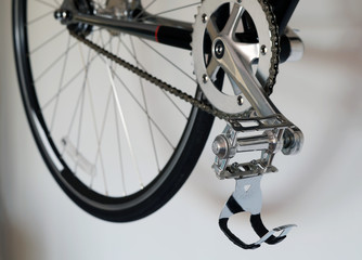 Bicycle pedal detail