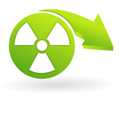 radiologie sur web symbole vert