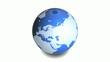 地球展開図