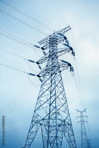 power transmission tower - 64809835