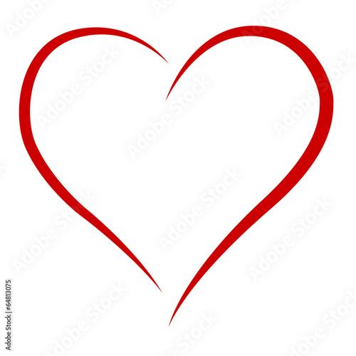 Zdjęcia na płótnie, fototapety, obrazy : elegantes Herz - classy heart
