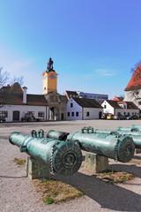 Kanonen am Neuen Schloss