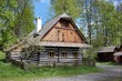"folk museum ""Vesely Kopec"" in Czech Republic, water mill"
