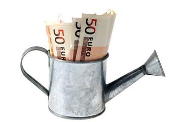 L'arrosoir à billets