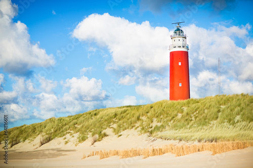 Tuinposter Amsterdam Texel lighthouse