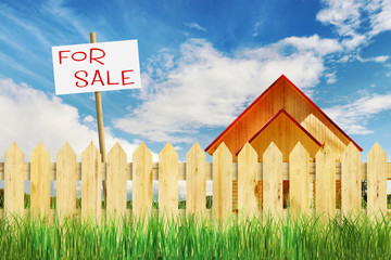 Suburban residential realty for sale