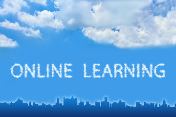 online learning text on cloud