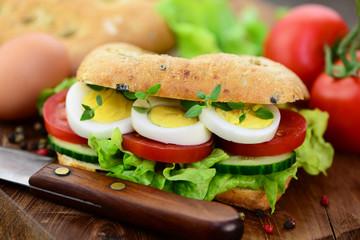 Sandwich, Messer
