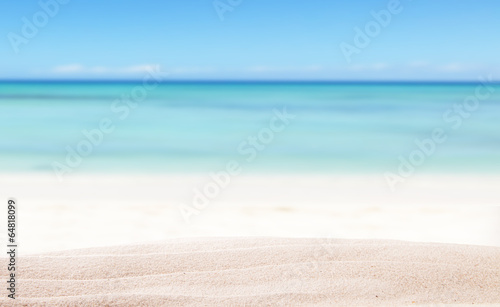 Summer beach background - 64818099