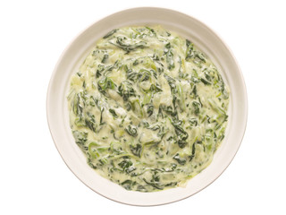 cream spinach