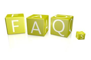 FAQs Würfel gelb