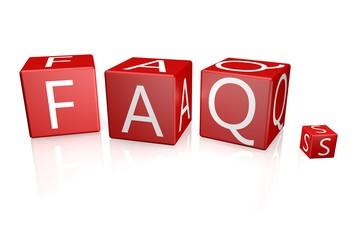 FAQs Würfel rot