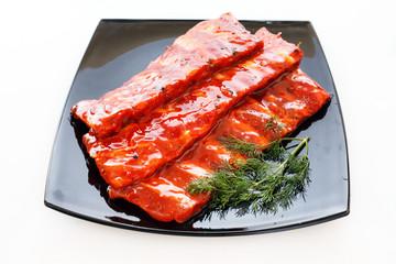 pork ribs in sauce
