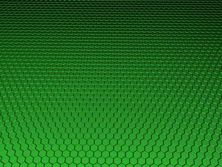 3D Hexagon Background