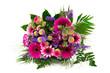 canvas print picture - Bunter Blumenstrauß