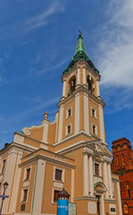 Holy Spirit church (1756) of Torun town, Poland