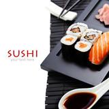 Fototapety sushi set