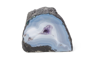 Agate blue and white
