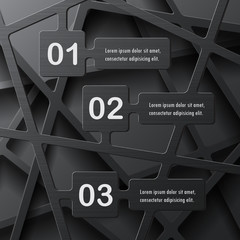 Abstract stylish infographics