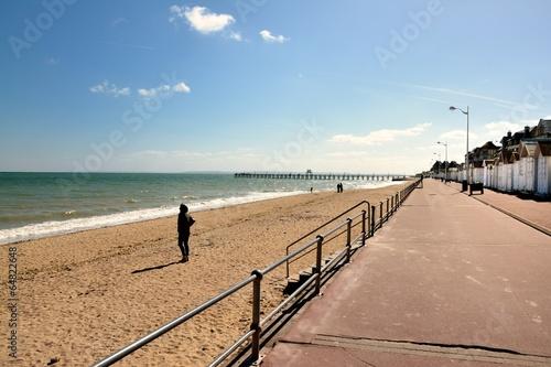 Poster Luc sur mer plage et promenade