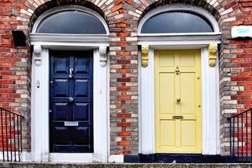 Dublin doors HDR