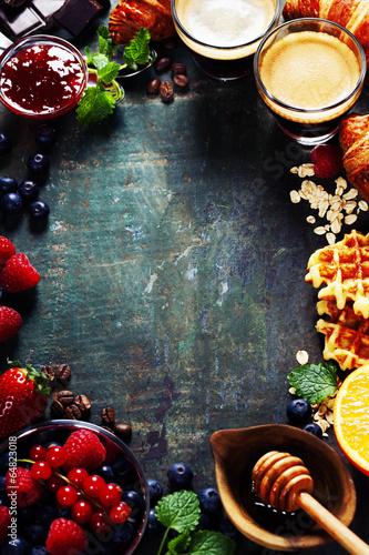 Breakfast frame © Natalia Klenova