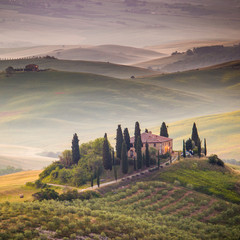 The Tuscan landscape, Italy
