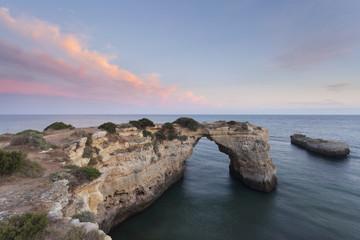 Arco de Albandeira no Algarve