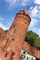 Gefängnisturm der Burg in Tangermünde