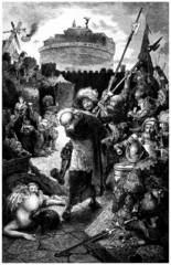 Soldiers/Mercenaries : Plundering Rome - 16th century