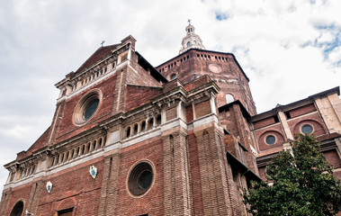 The Cathedral of Pavia, Italy