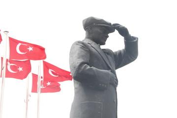 Atatürk Denkmal in Marmaris / Türkei