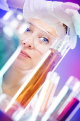 woman scientist in laboratory