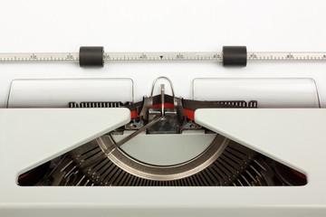 Closeup of Typewriter Typing