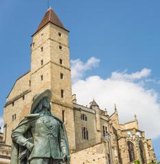 d'Artagnan statue in Auch