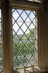 Gothic leaded window