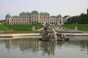 Vienna, i giardini del Belvedere