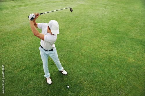 Zdjęcia na płótnie, fototapety, obrazy : Golf shot