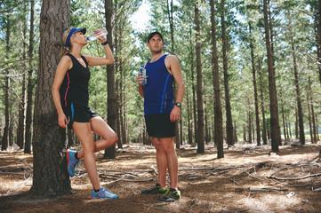 marathon water drinking