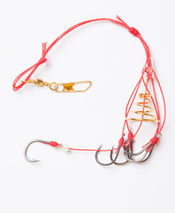 Fishhooks and feeder