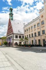 Gewandhaus und Rathaus Zwickau