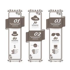 Infographic Design modern Vintage  Labels  template.