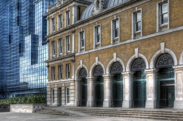 Traditional and Modern architecture in London